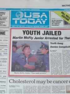 Special Edition BTTF newspaper by USA TODAY